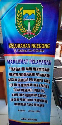 Maklumat Pelayanan Kelurahan Ngegong